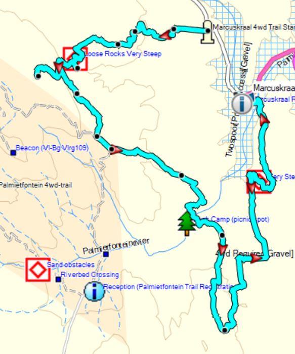 Marcuskraal Route